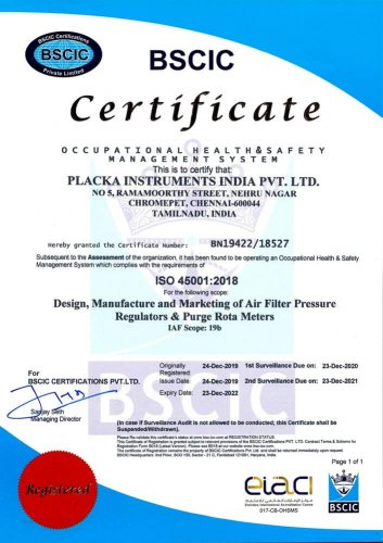 ISO-45001---CERTIFICATE--PLACKA